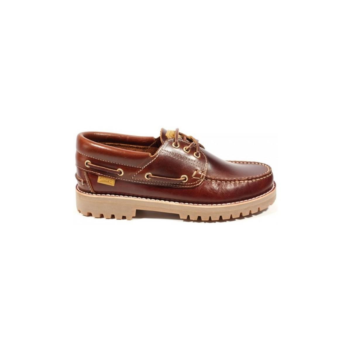 Camper Nautico 15233 - 001 Men's Boat Shoes In Brown for Men