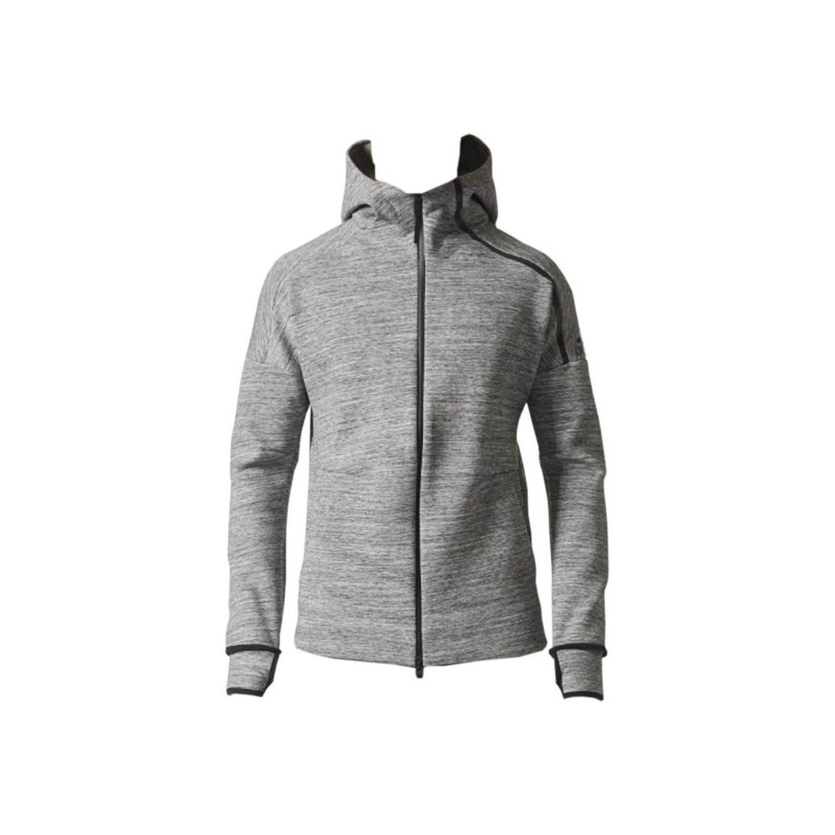 adidas Zne Storm Heather Men's Sweatshirt In Grey in Grey for Men - Save 7%