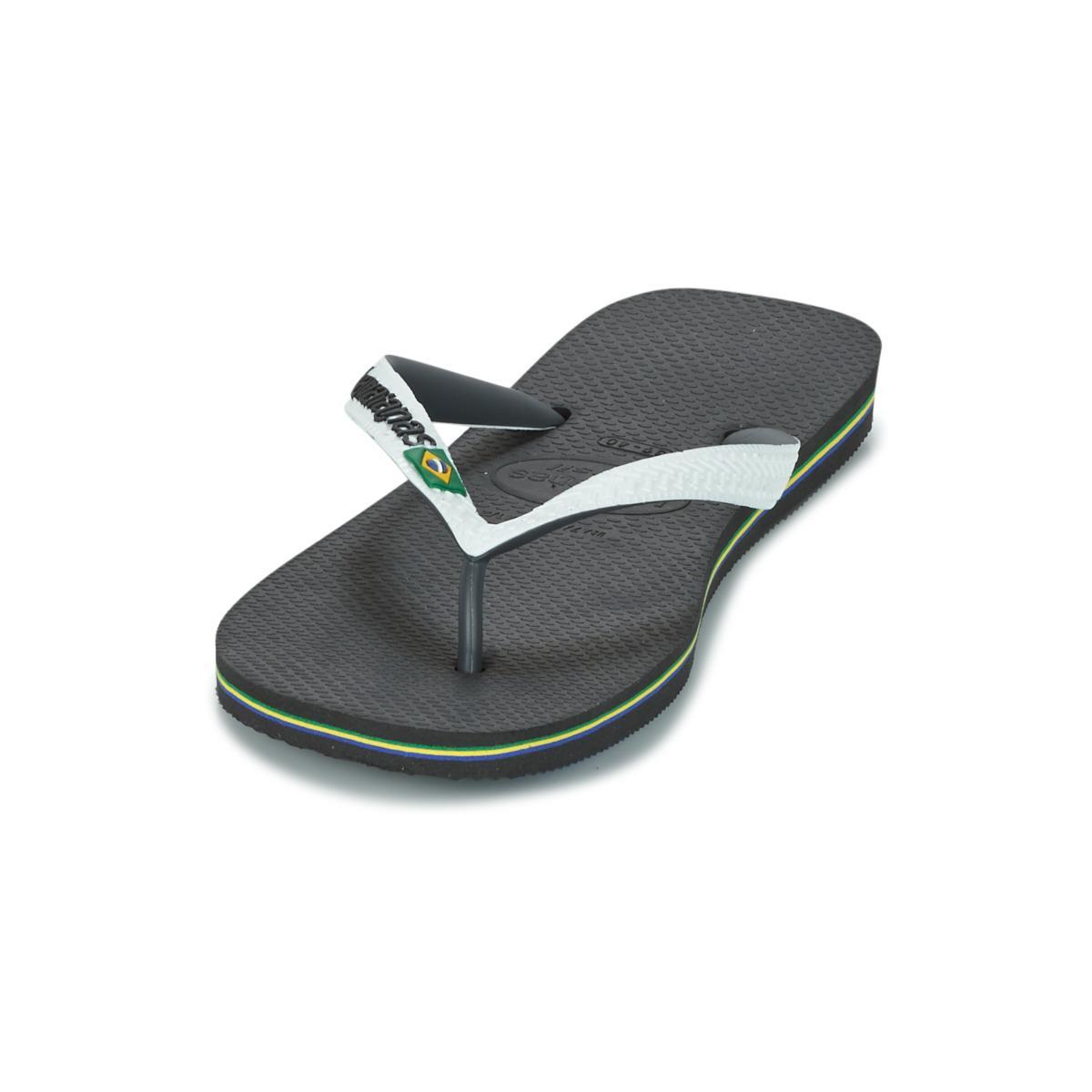 53ebcdf43acdb Havaianas Brasil Mix Flip Flops   Sandals (shoes) in White - Save ...