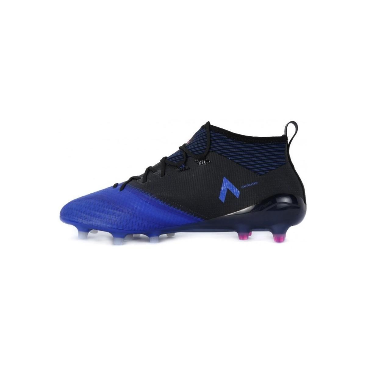 4c0a961e848 Adidas - Ace 171 Primeknit Fg Men s Football Boots In Black for Men - Lyst.  View fullscreen