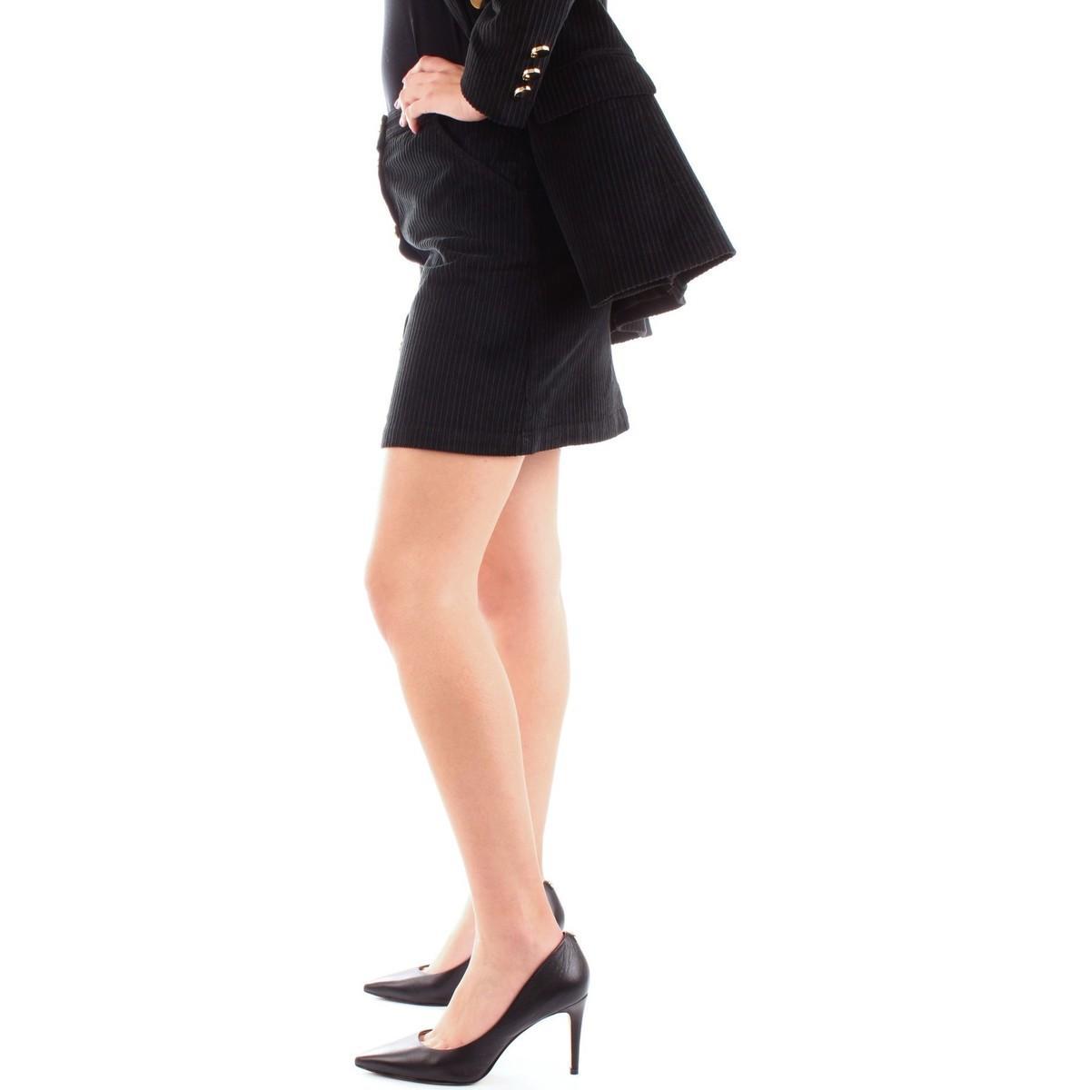 A206/ZC041 minijupes Femme NOIR Jupes Annarita N. en coloris Noir