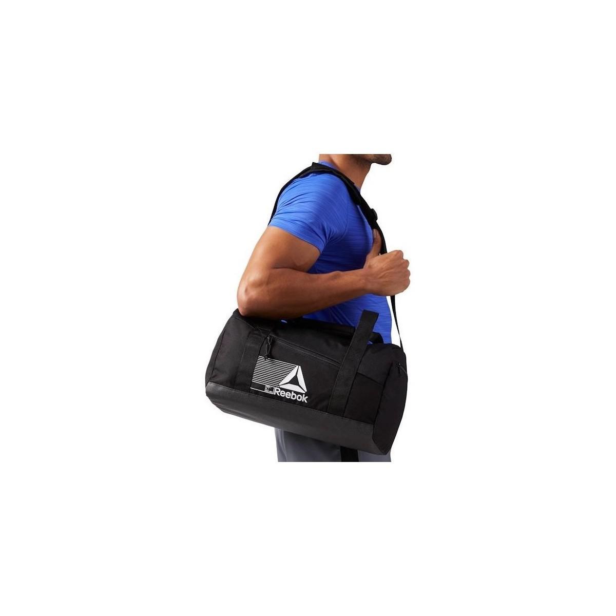 bb8cd02a9af2a Reebok Act Fon S Grip Men s Sports Bag In Black in Black for Men - Lyst