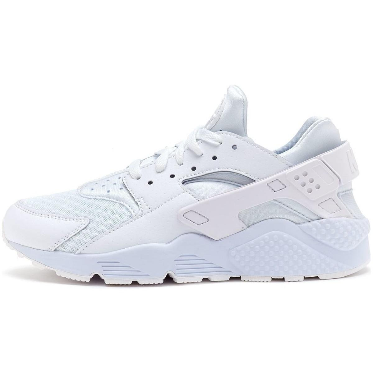 official photos 0a1b3 28137 Nike. Air Huarache Trainers In White Pure Platinum 318429 111 Men s Shoes  ...