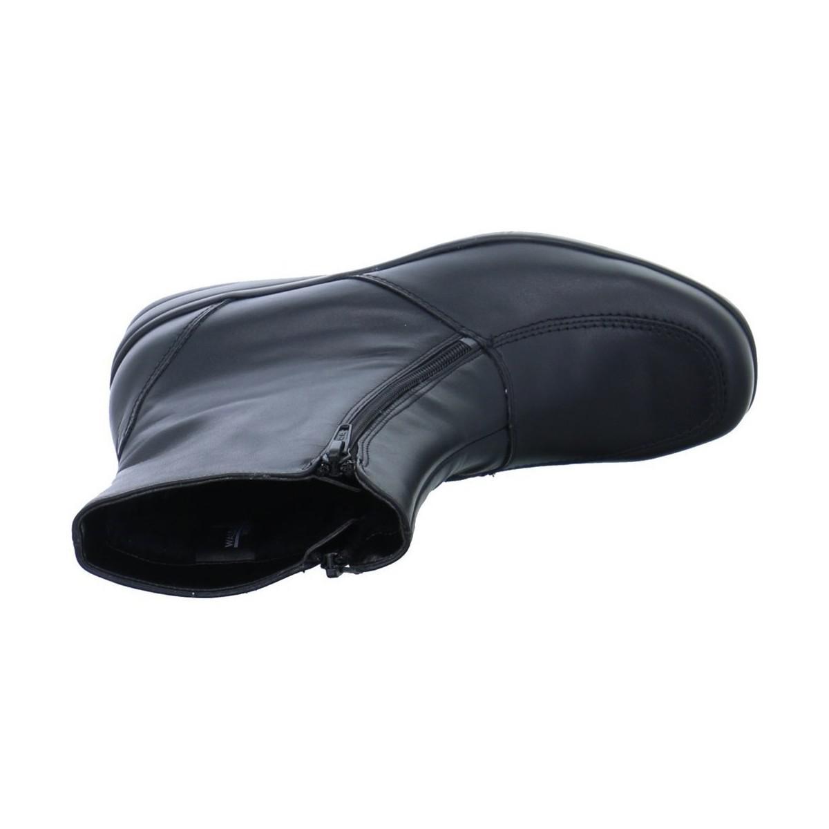 Waldläufer Hissa 25 Women's Low Ankle Boots In Black