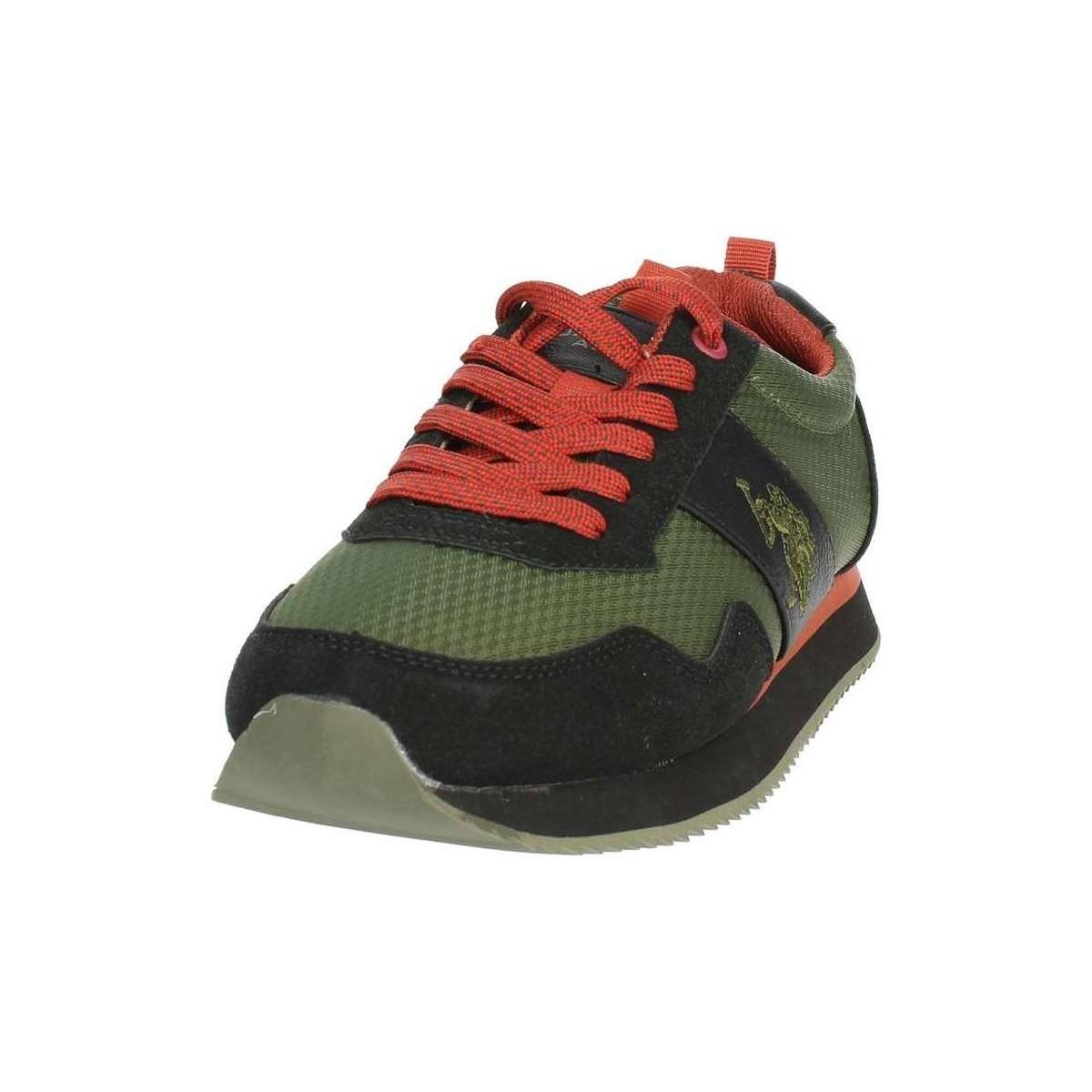 U.S. POLO ASSN. Lage Sneakers Nobil4215s8/hn2 in het Groen voor heren