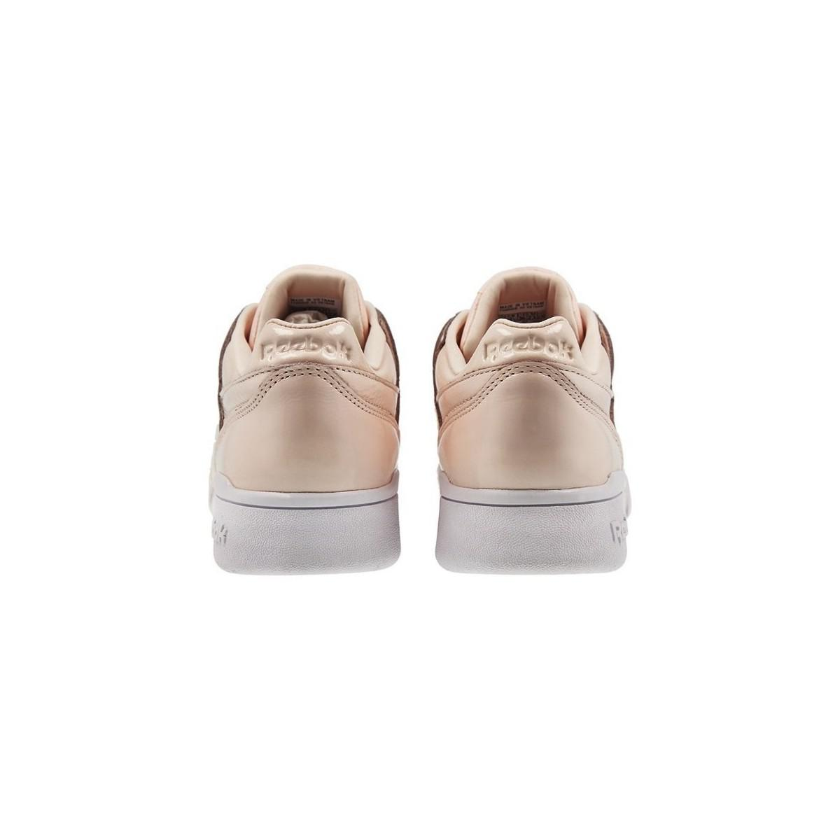 Reebok W Lo Plus Iridescent Women's Shoes (trainers) In Multicolour