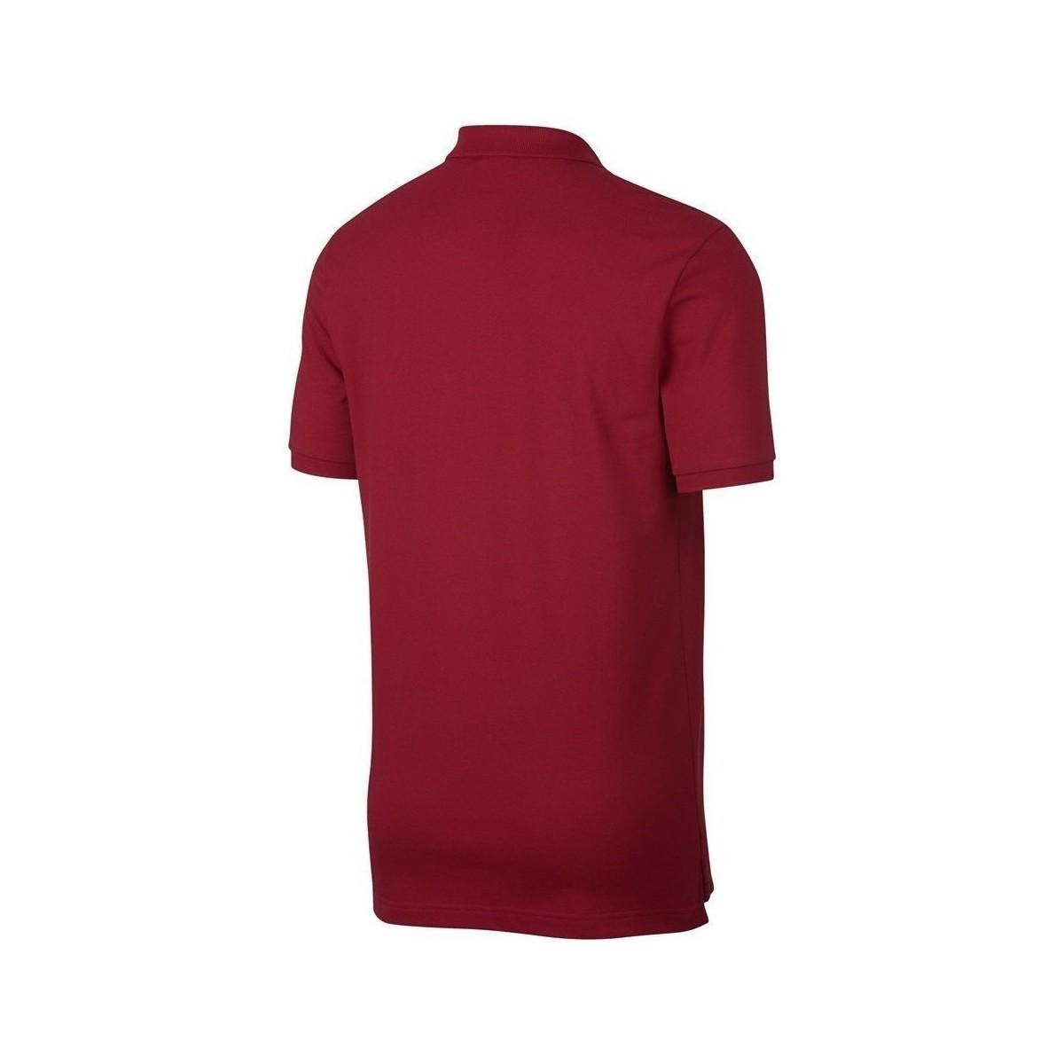 Nike Poland Wc 2018 Nsw Polo Men's Polo Shirt In Red for Men