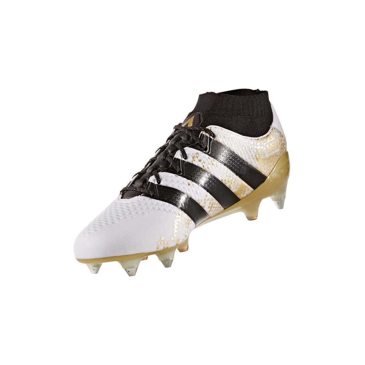 adidas Voetbalschoenen Ace 16.1 Primeknit Sg in het Wit voor heren