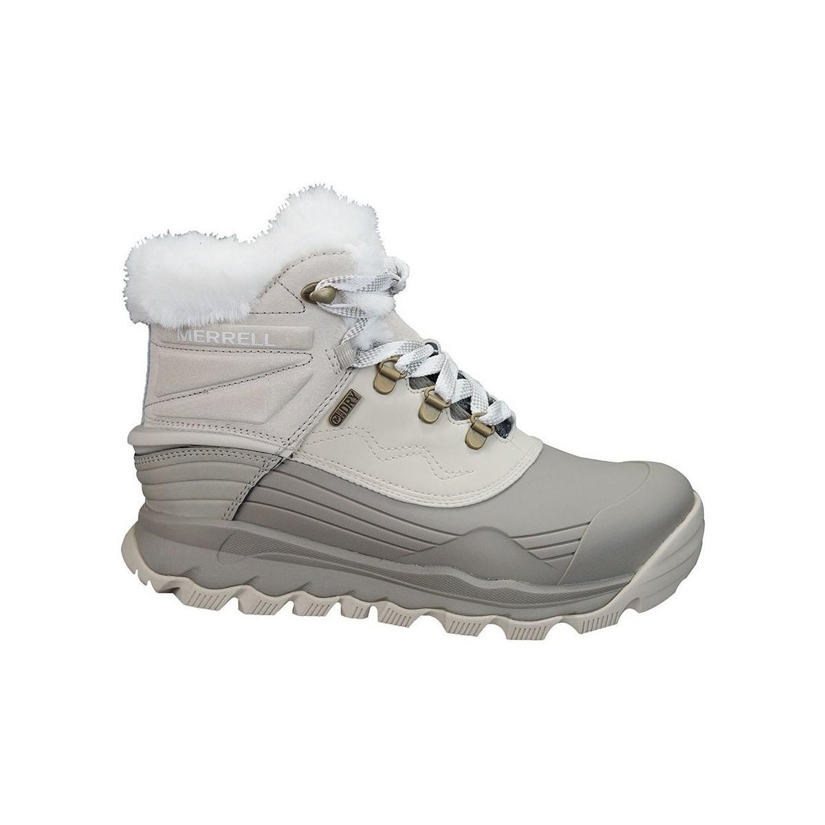 Merrell Thermo Shiver 6 Wp Women's Snow Boots In Beige in Natural