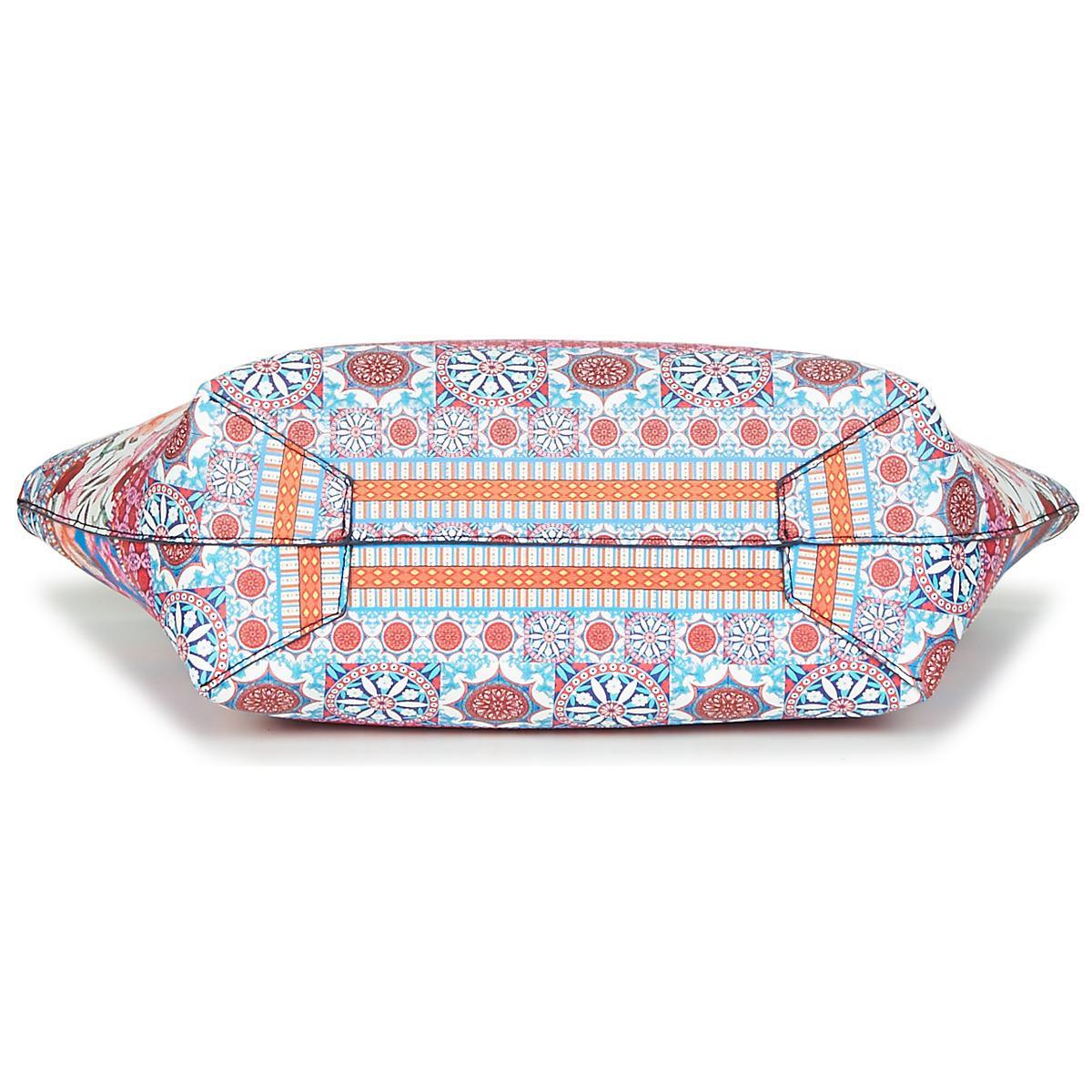 Desigual Multicoloured Aria Capri Reverible Shopper /& Small Bag RRP ?74 Floral