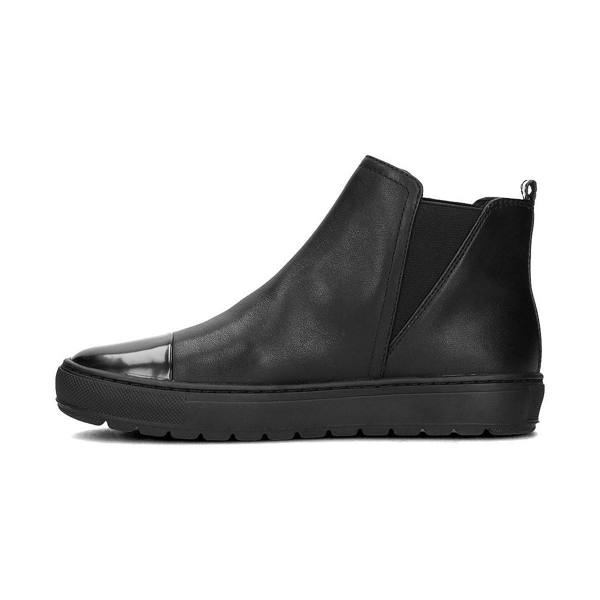 Geox Breeda Women's Low Ankle Boots In Black