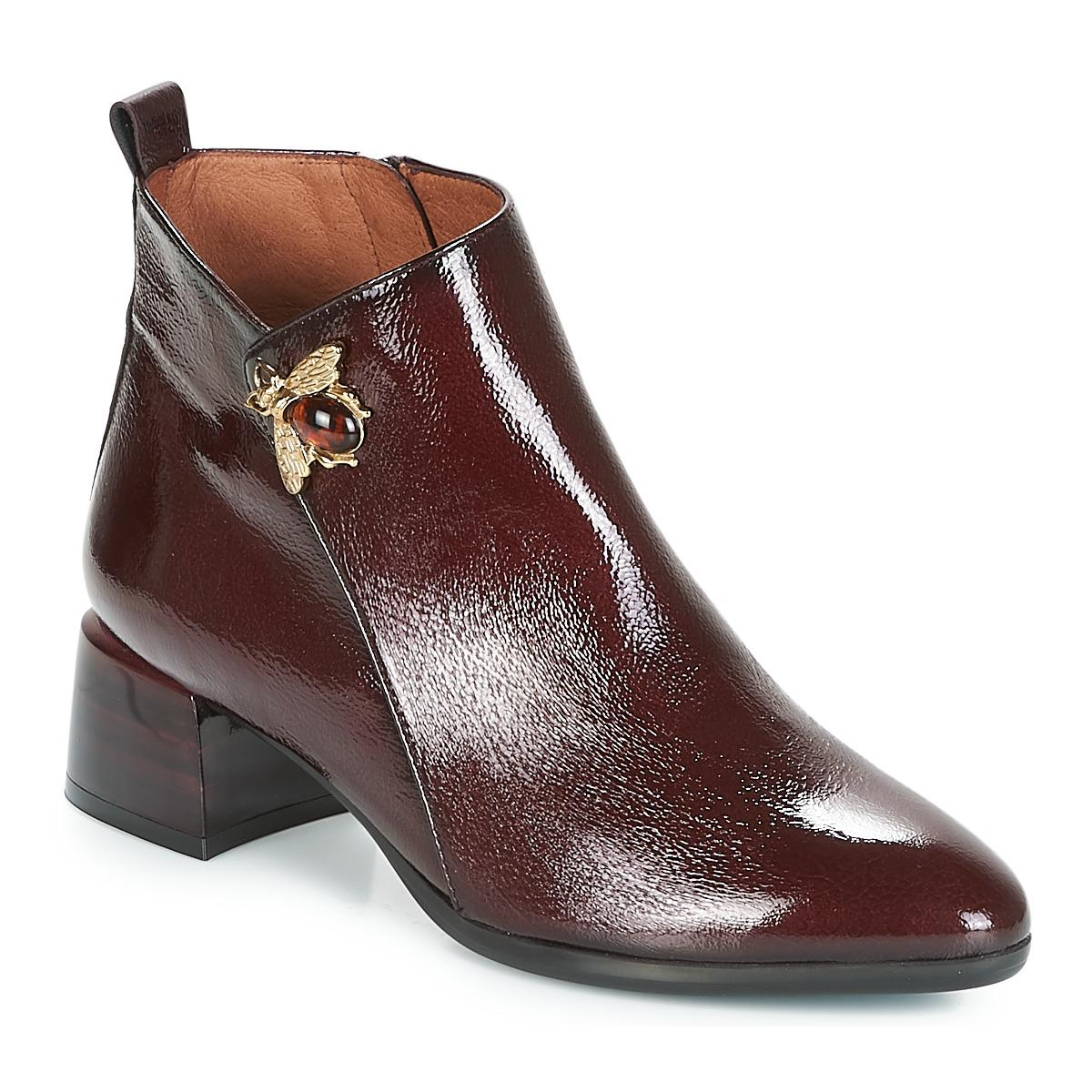 5d78bcecd4ac Hispanitas Ginger Low Ankle Boots in Red - Lyst