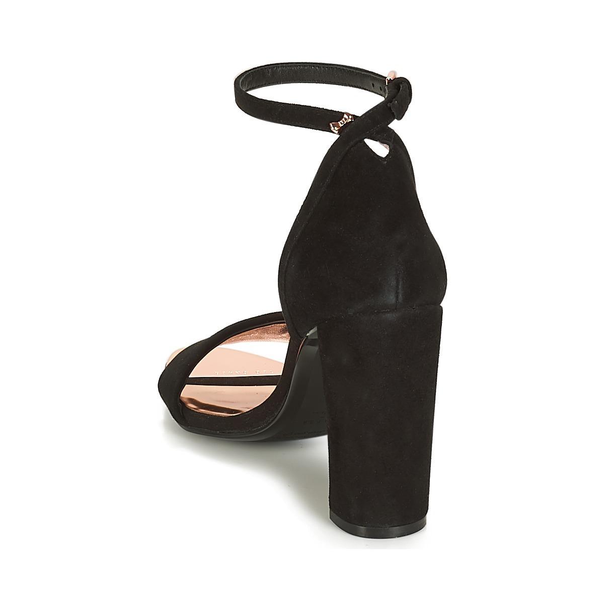 43879aeb3 Ted Baker Phanda Women s Court Shoes In Black in Black - Lyst