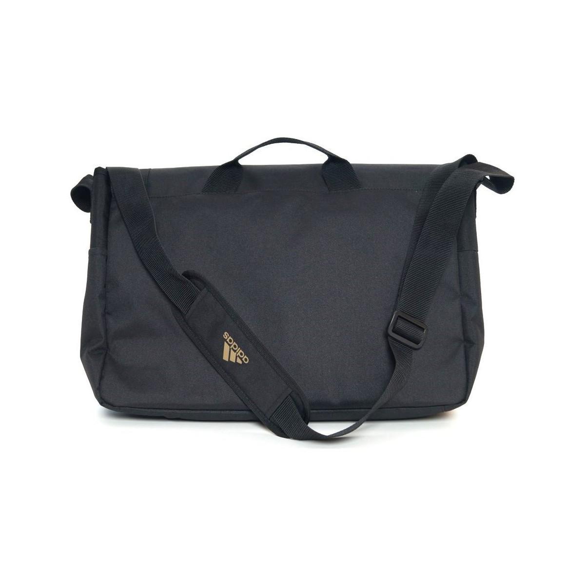adidas Afa Mess Men s Messenger Bag In Black in Black for Men - Lyst d896a94122
