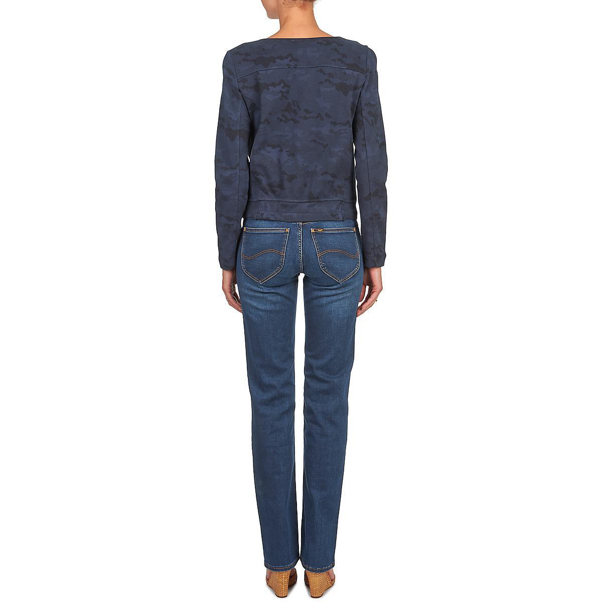 Lee Jeans Bomber Women's Jacket In Blue