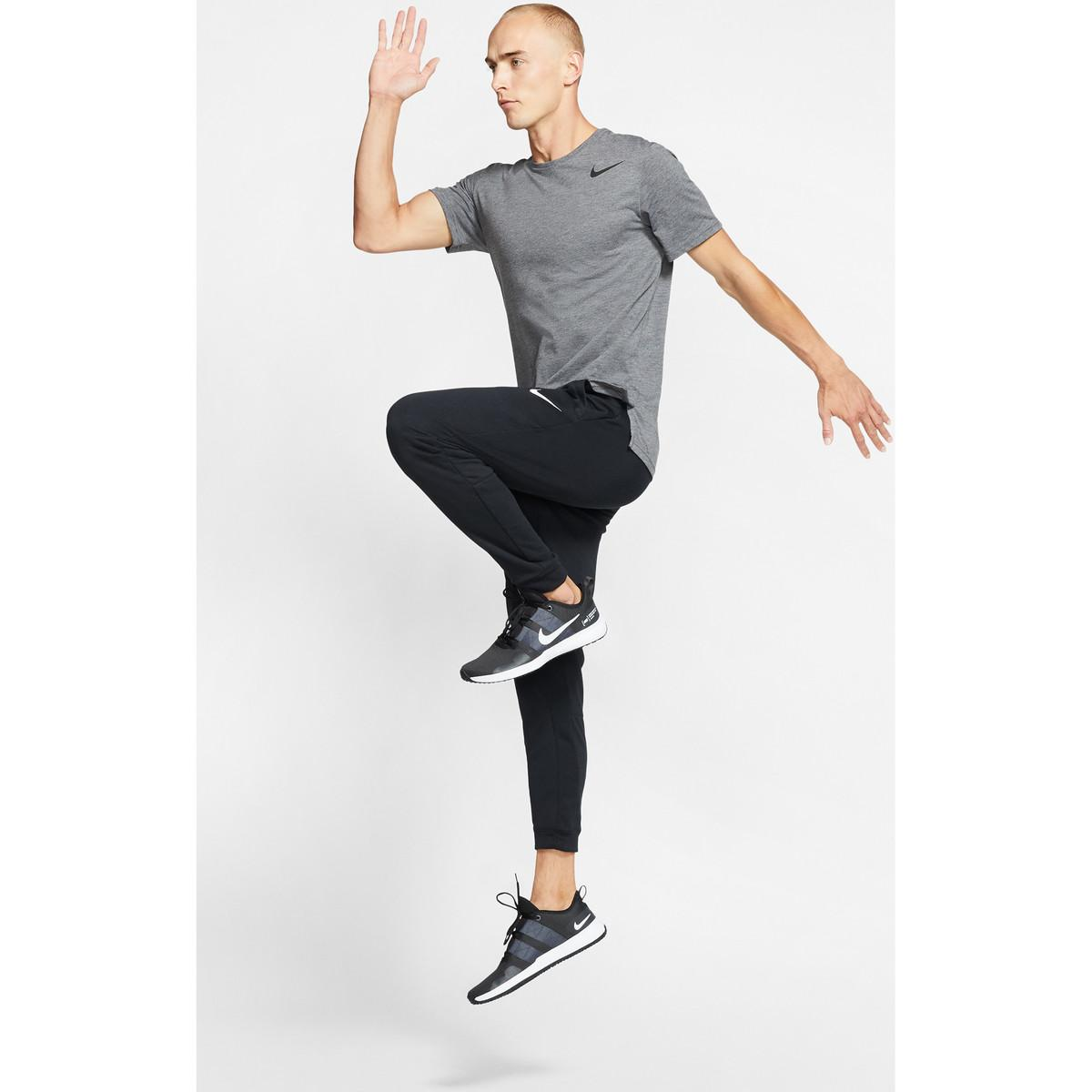 Nike Trainingsbroek Dry Taper Fleece Training Pants in het Zwart voor heren