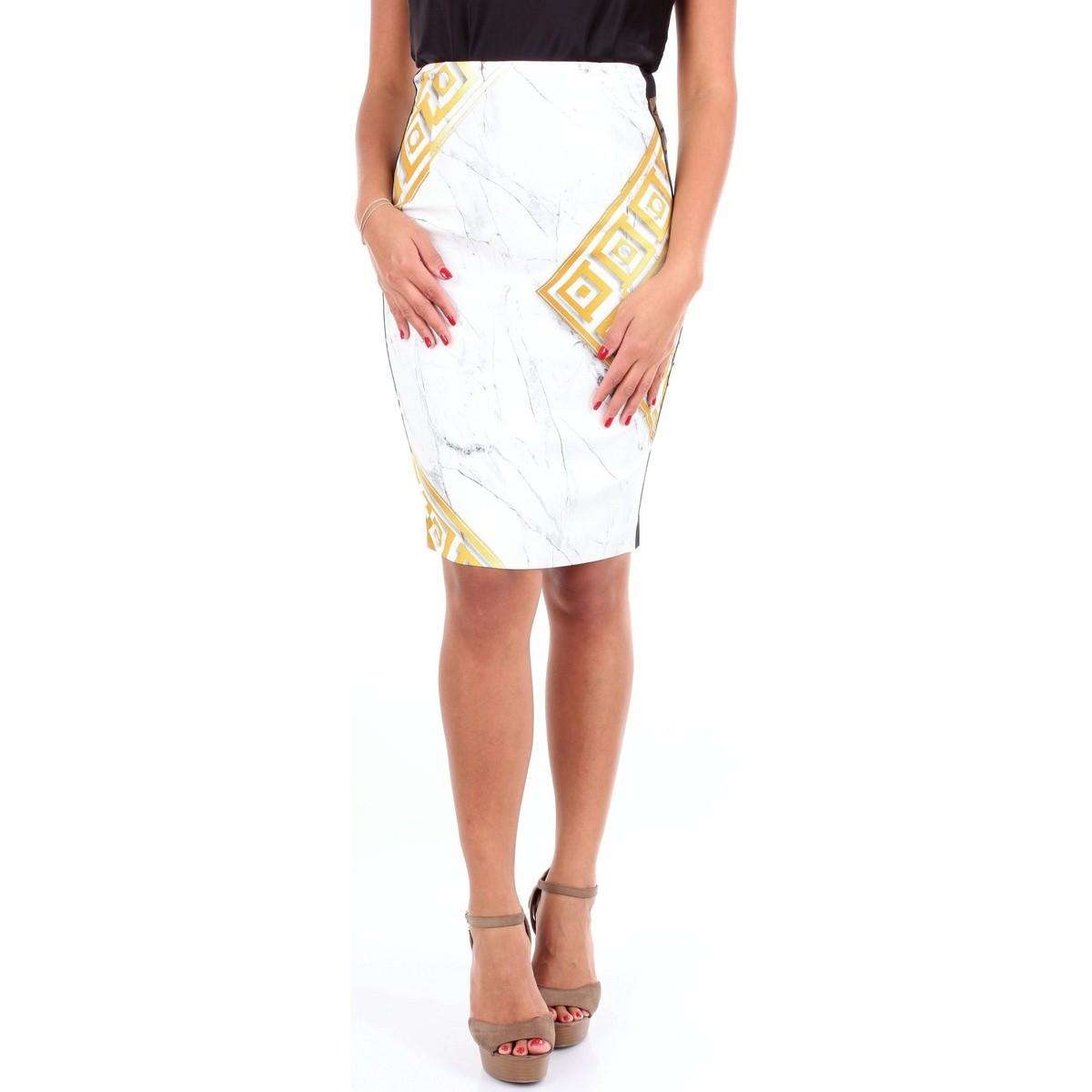 G35955G604544 femmes Jupes en Multicolor Versace en coloris Blanc