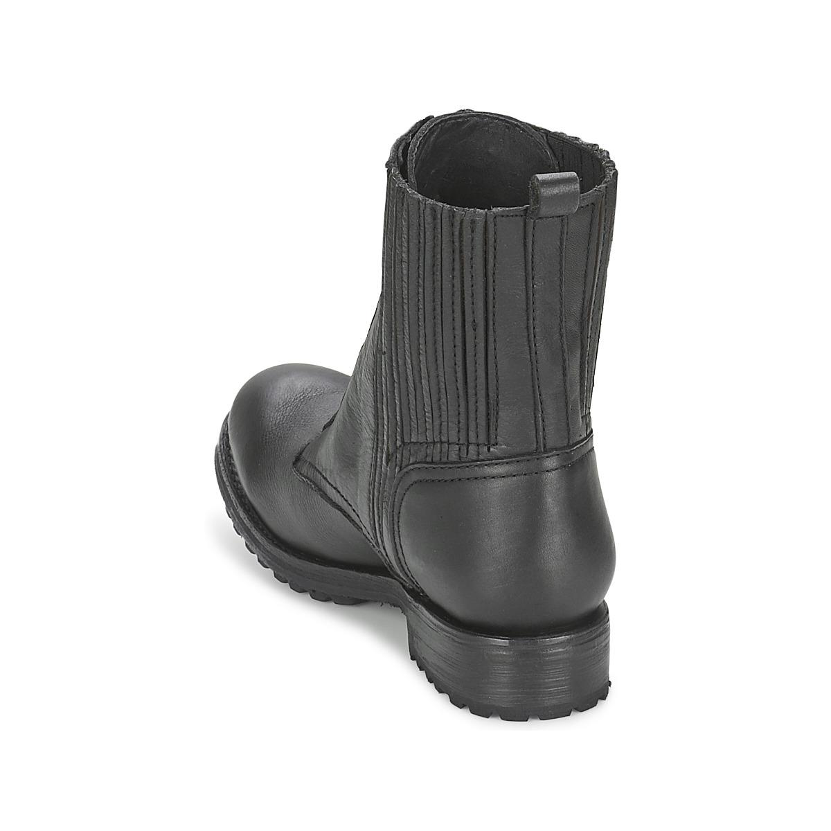 Ash Rachel Mid Boots in Black - Save 12%