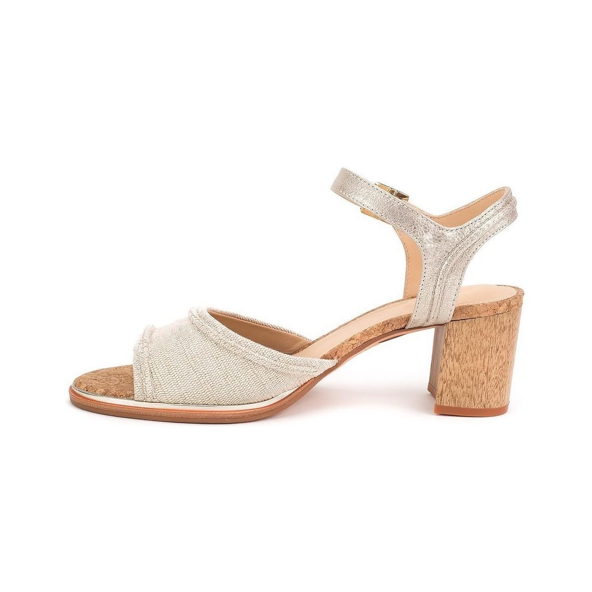 36058d0f9b92 Clarks Ellis Clara Women s Sandals In Beige in Natural - Lyst