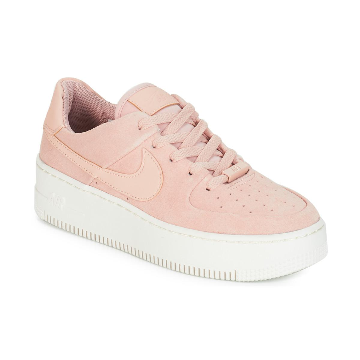 Air Femmes Low Force Sage 1 En W Rose Chaussures 4jAL5R