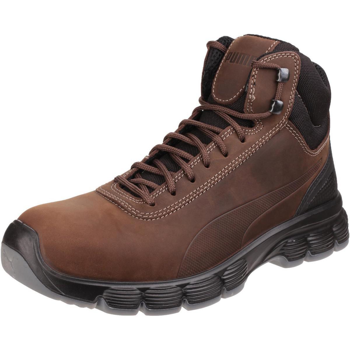fe91b9ac1d3 Puma Condor Mid Men s Walking Boots In Brown in Brown for Men - Lyst