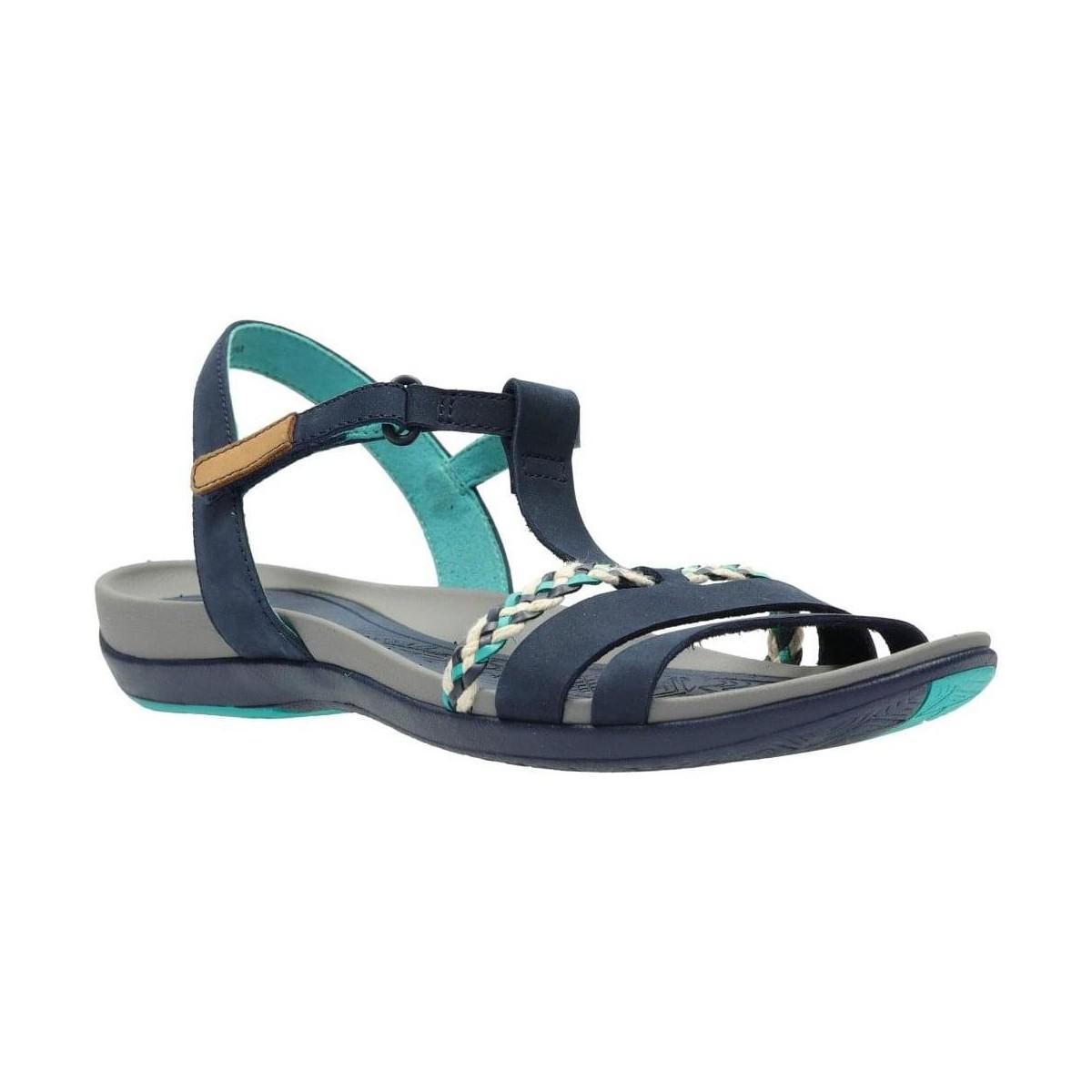 a2ed5a8d7a4d Clarks Tealite Grace Womens T-bar Sandals Women s Sandals In Blue in ...