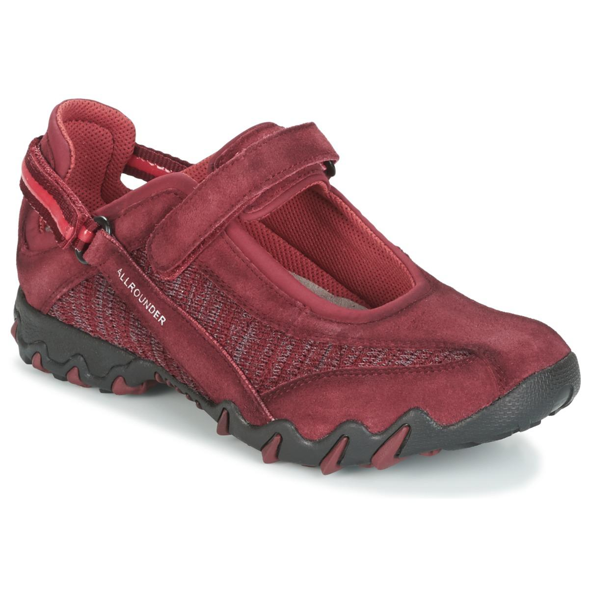 New Allrounder By Mephisto Niro Red Trainers for Women On Sale