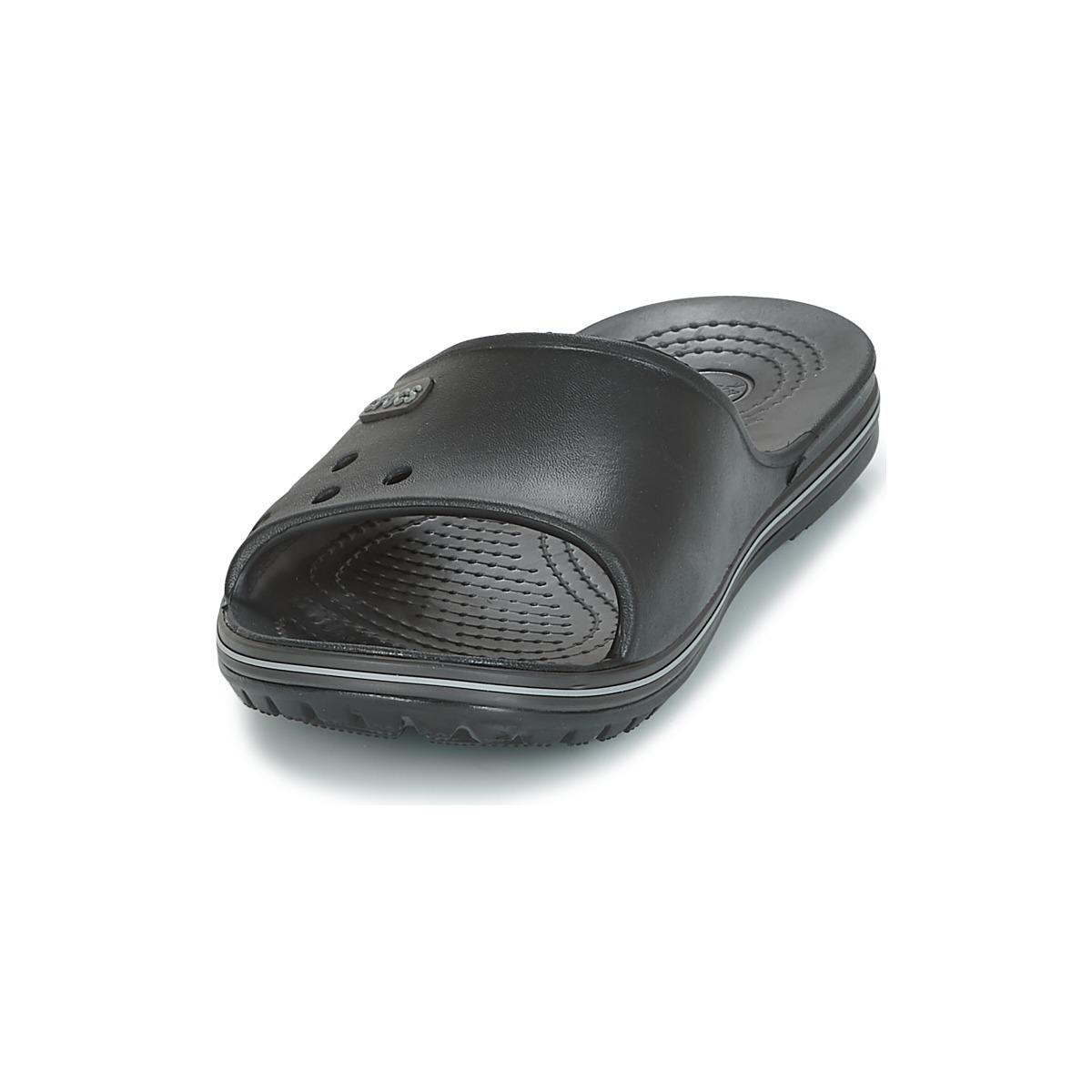 a53e67dbf7bc Crocs™ - Crocband Ii Slide Men s Sandals In Black for Men - Lyst. View  fullscreen
