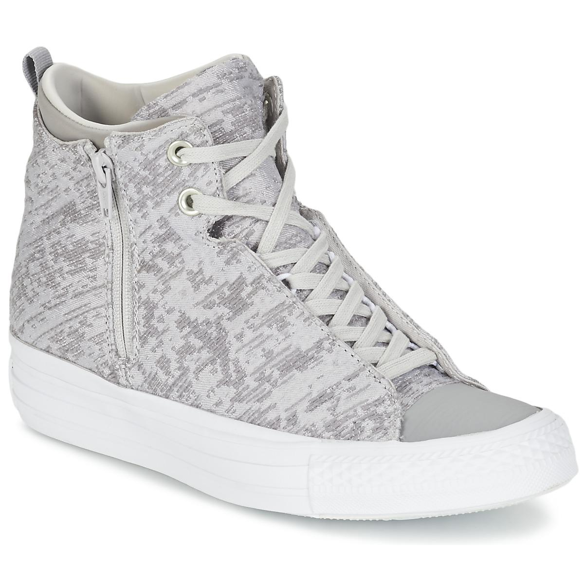 a00fabc1b5bc Converse. Gray Chuck Taylor All Star Selene Women s Shoes (high-top ...