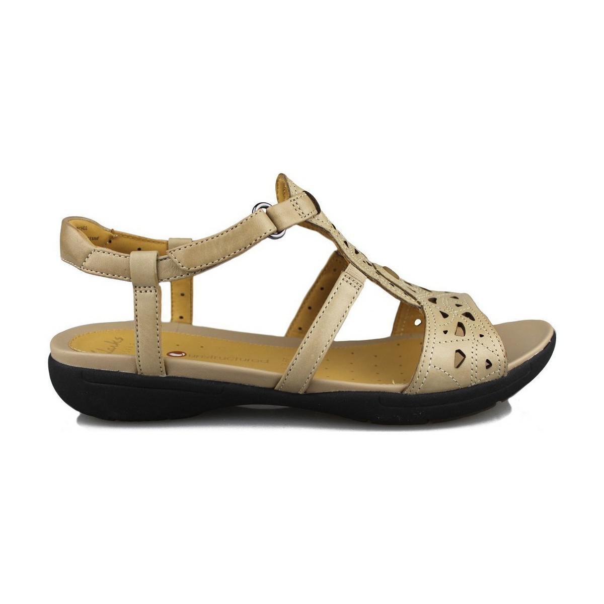 9baf3016850 Clarks Un Valencia Women s Sandals In Brown in Brown - Lyst