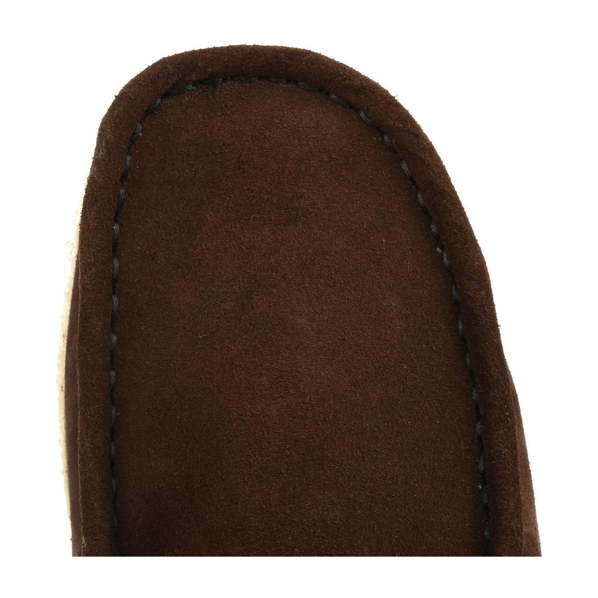 Clarks Originals Mens Dark Brown Wallabee Suede Shoes Men's Casual Shoes In Brown for Men