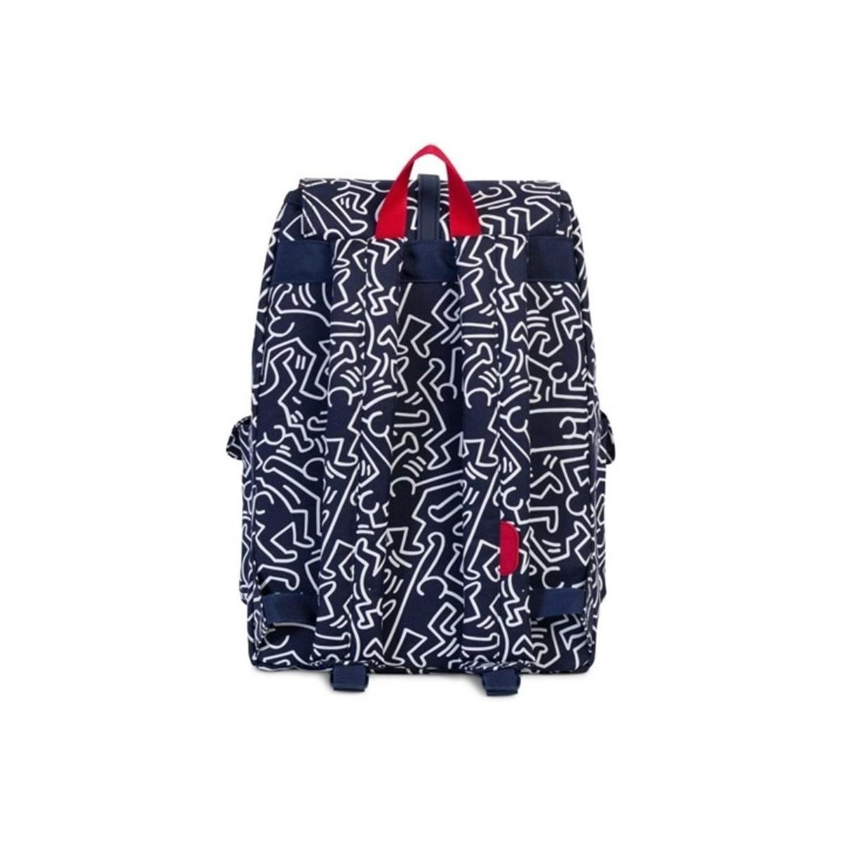 Herschel Supply Co. Dawson Backpack Peacoat Keith Haring Women's Backpack In White