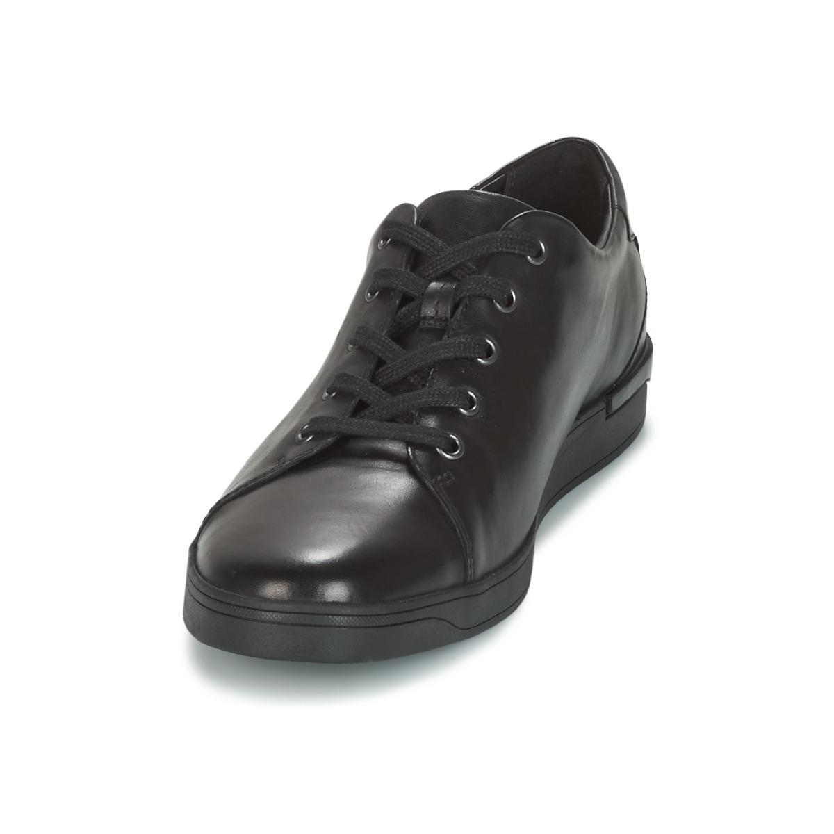 Clarks Black Leather Men's Shoes (trainers) In Black for Men