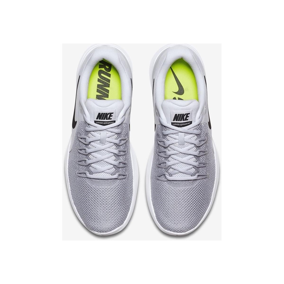 Nike Lunar Apparent 908987 Men's Shoes (trainers) In Multicolour in White for Men