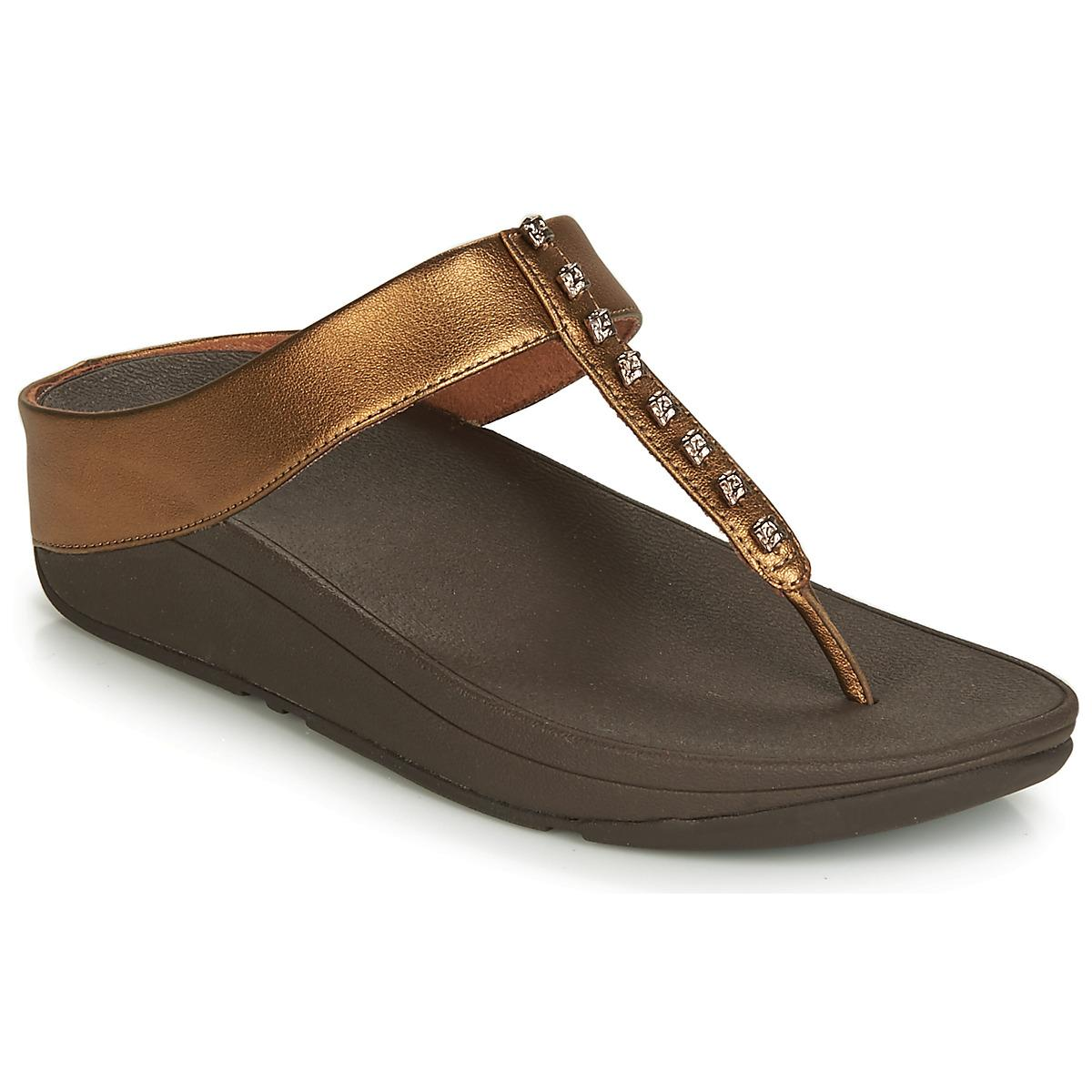 dc5b4d59b Fitflop Fino Treasure Women s Sandals In Multicolour in Brown - Lyst