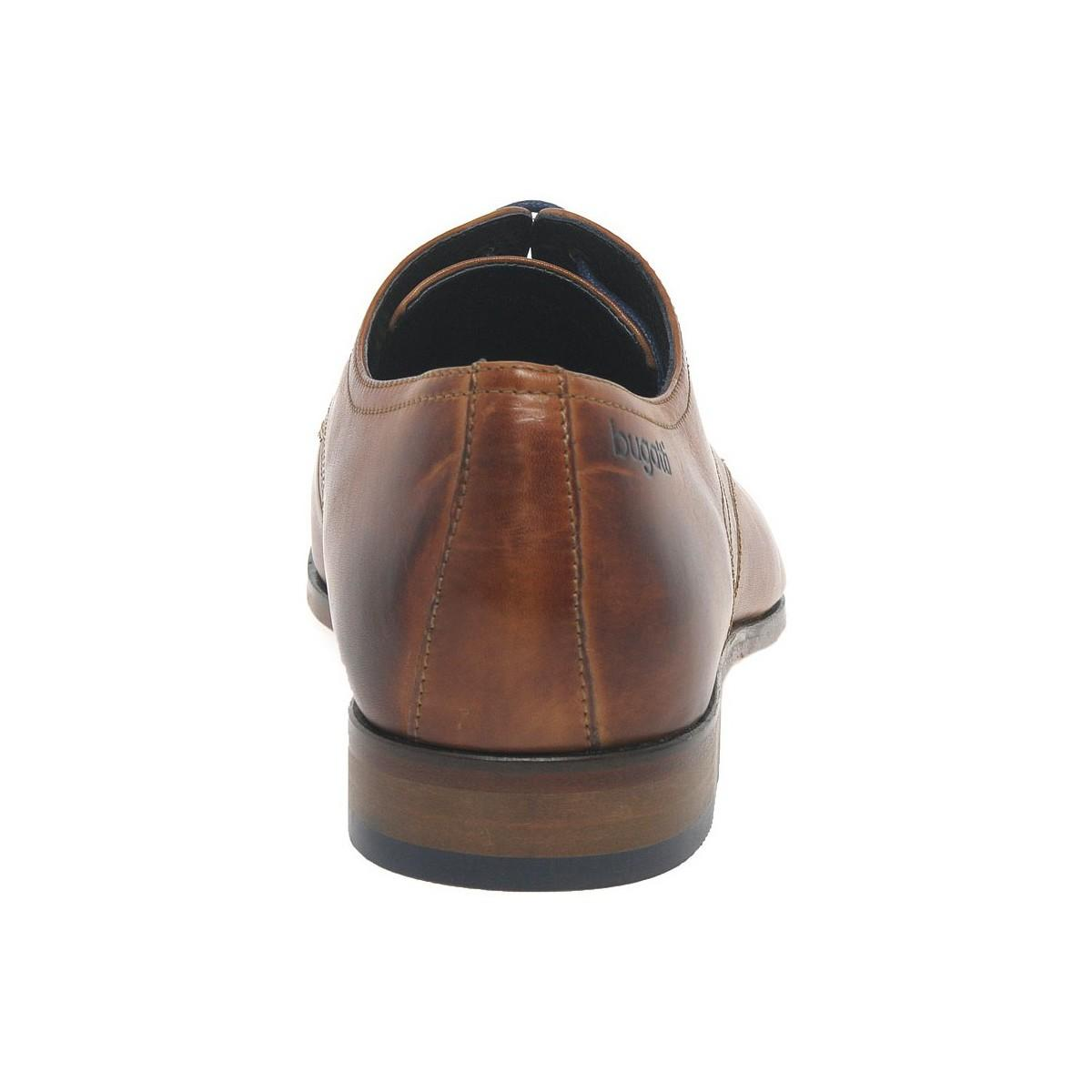 Bugatti Leather Rhine Mens Formal Shoes Men's Smart / Formal Shoes In Brown for Men