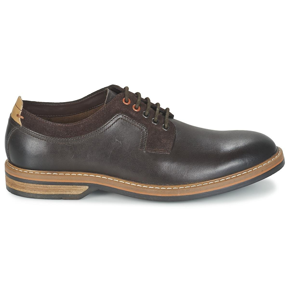 Clarks Leather Pitney Walk Men's Casual Shoes In Brown for Men