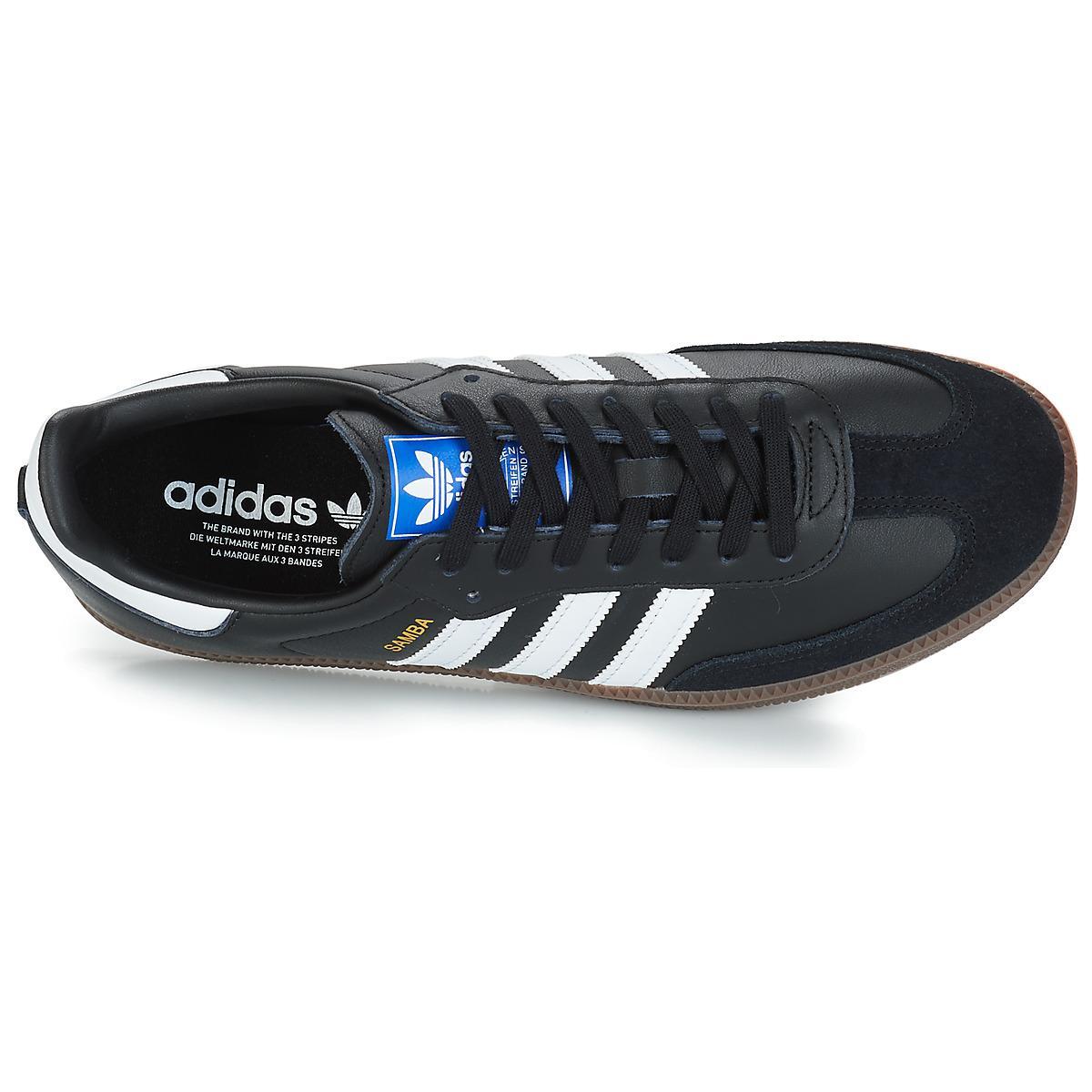 adidas Lage Sneakers Samba Og in het Zwart voor heren
