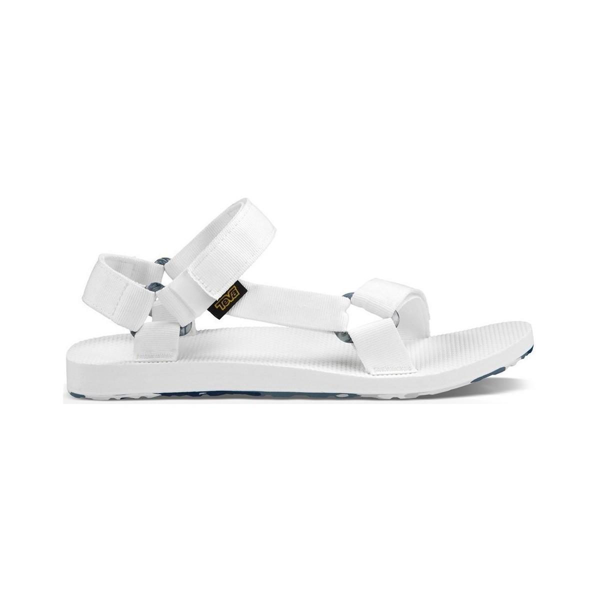 be2da5695 Teva Original Men s Sandals In White in White for Men - Lyst