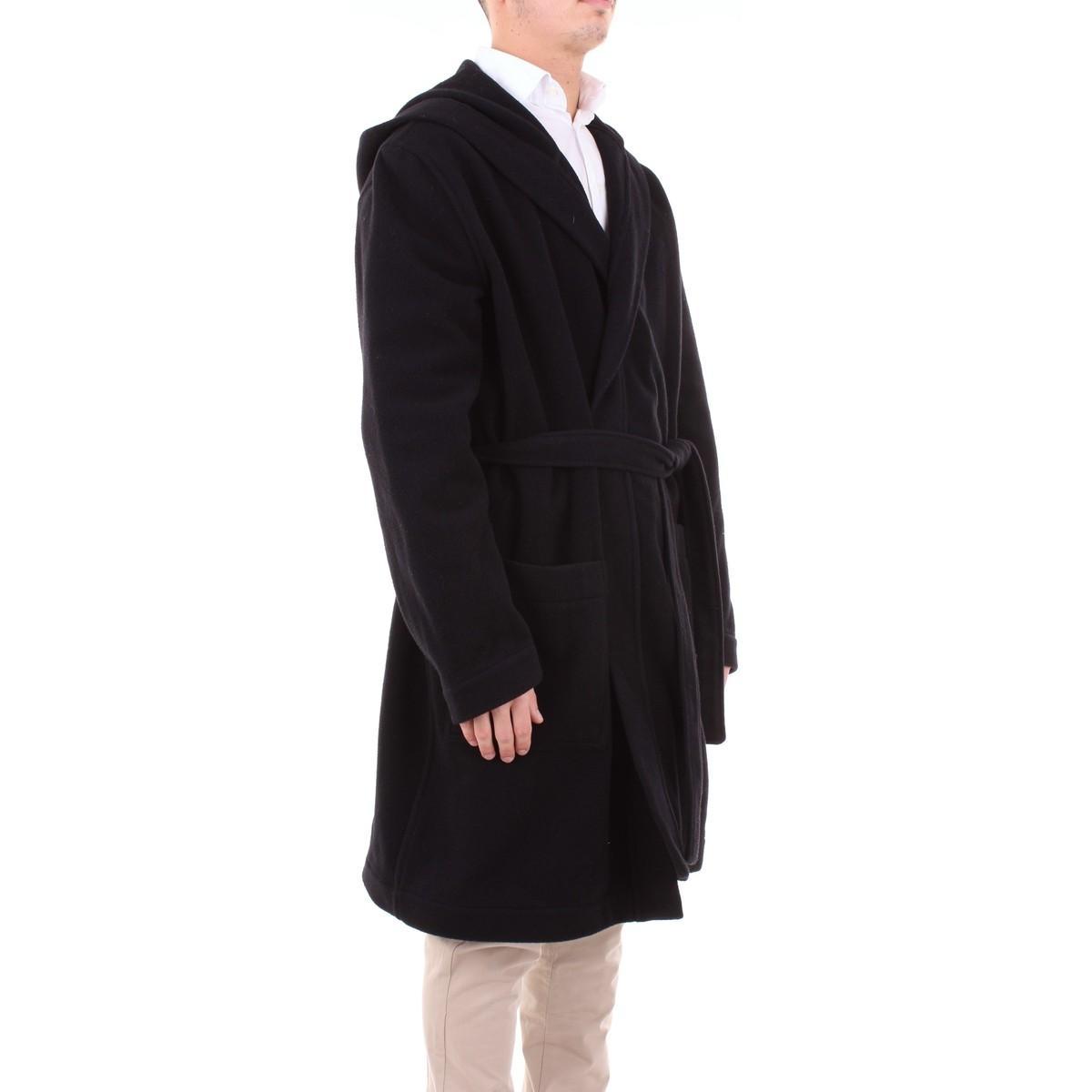 2340MC06174528 Manteau MSGM pour homme en coloris Noir siVRJ