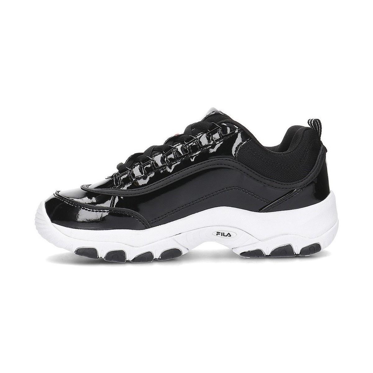 Strada Low Chaussures Fila en coloris Noir