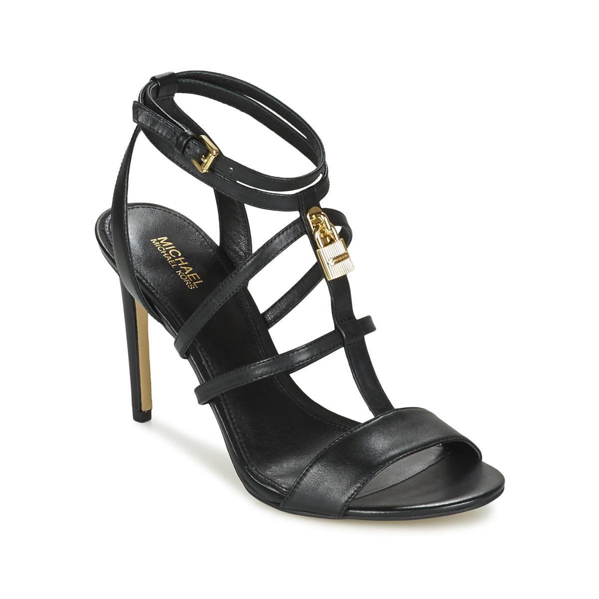 b15cbccc5fca MICHAEL Michael Kors Antoinette Sandal Women s Sandals In Black in ...