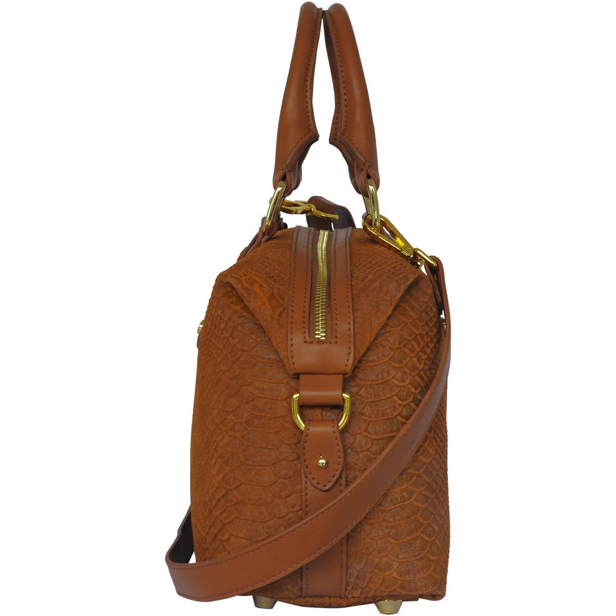 Silvio Tossi - Swiss Label Handtasche Handtasche 11530-01 in Braun BcxlU