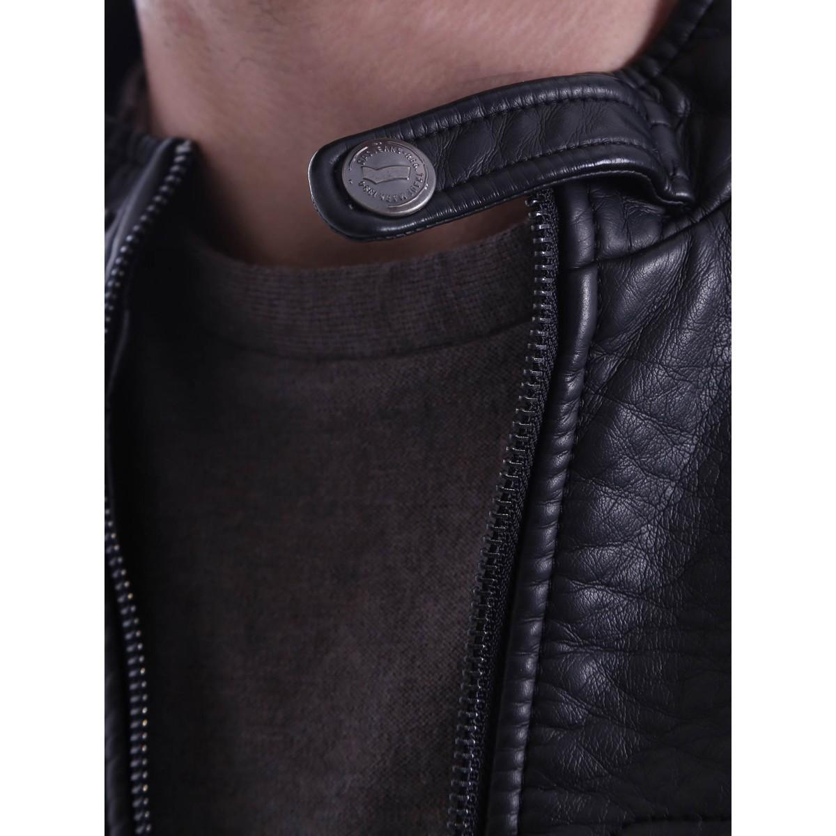 Gas 250951 Jacket Man Men's Tracksuit Jacket In Black for Men