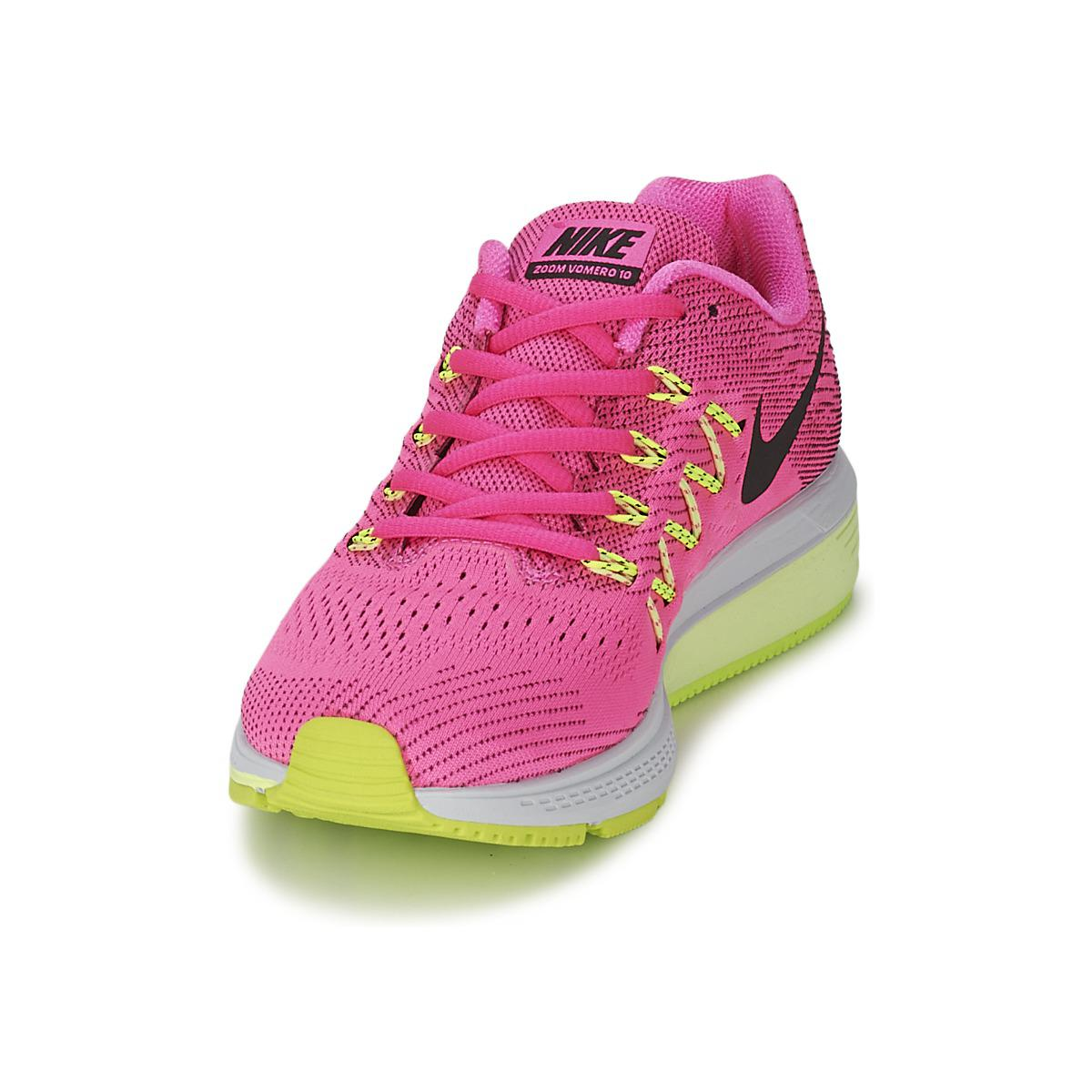 9fd964fa4ea67 Nike Vomero 10 Women s Running Trainers In Pink in Pink - Lyst