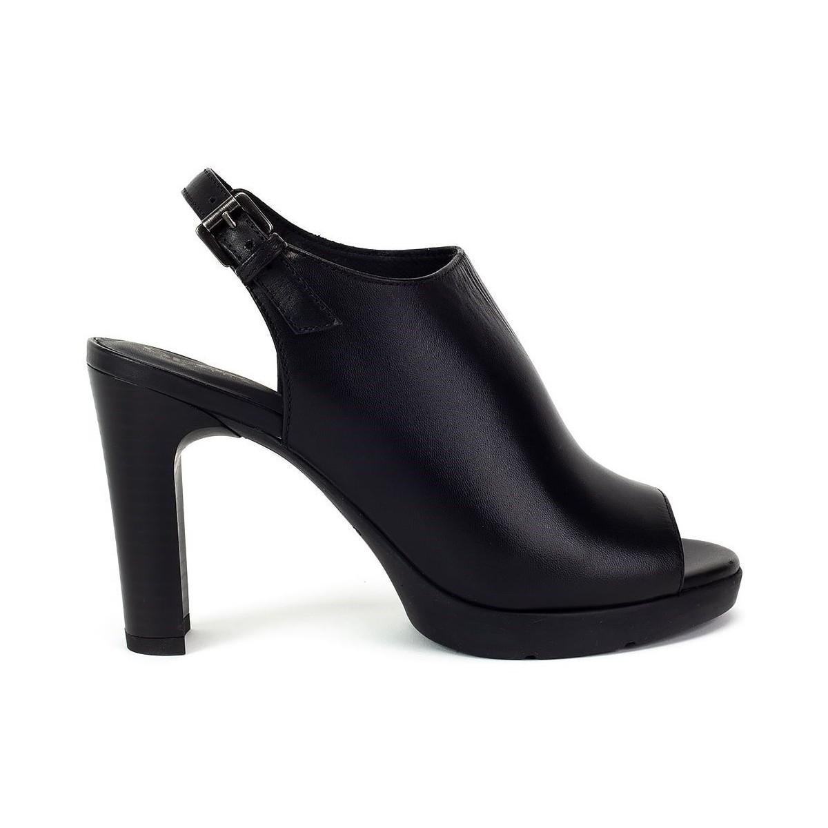 Geox Annya Women's Sandals In Black in Black Lyst
