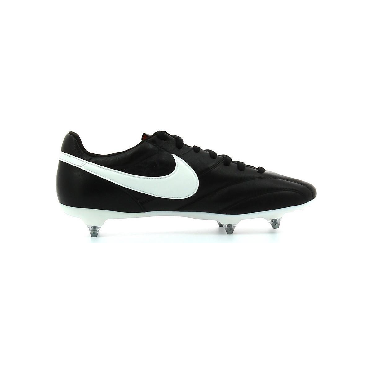 Nike Voetbalschoenen Premier Sg in het Zwart voor heren