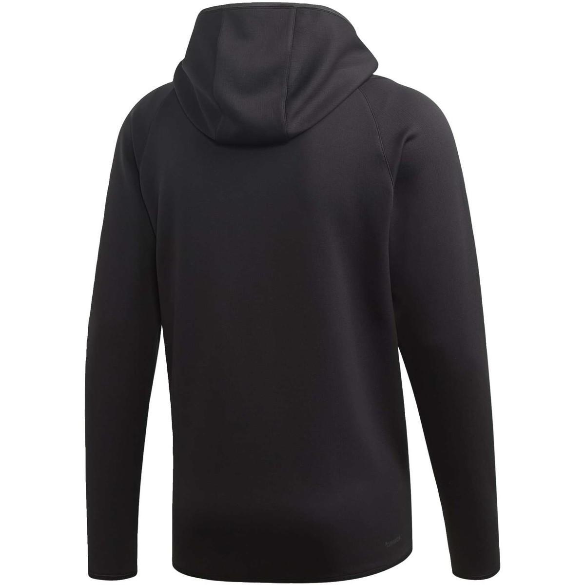 adidas Trainingsjack Warm Hoodie in het Zwart voor heren