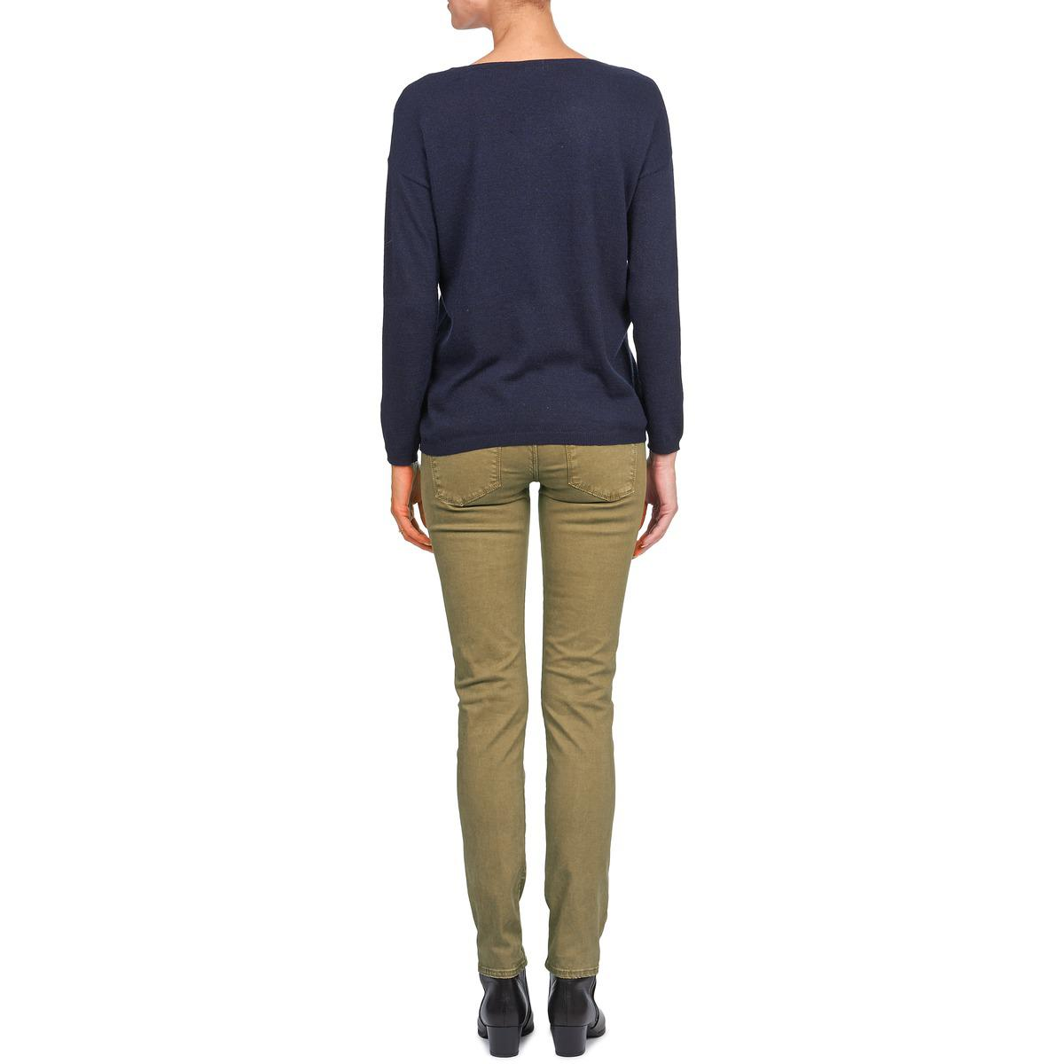 Acquaverde Denim Joe Women's Skinny Jeans In Brown
