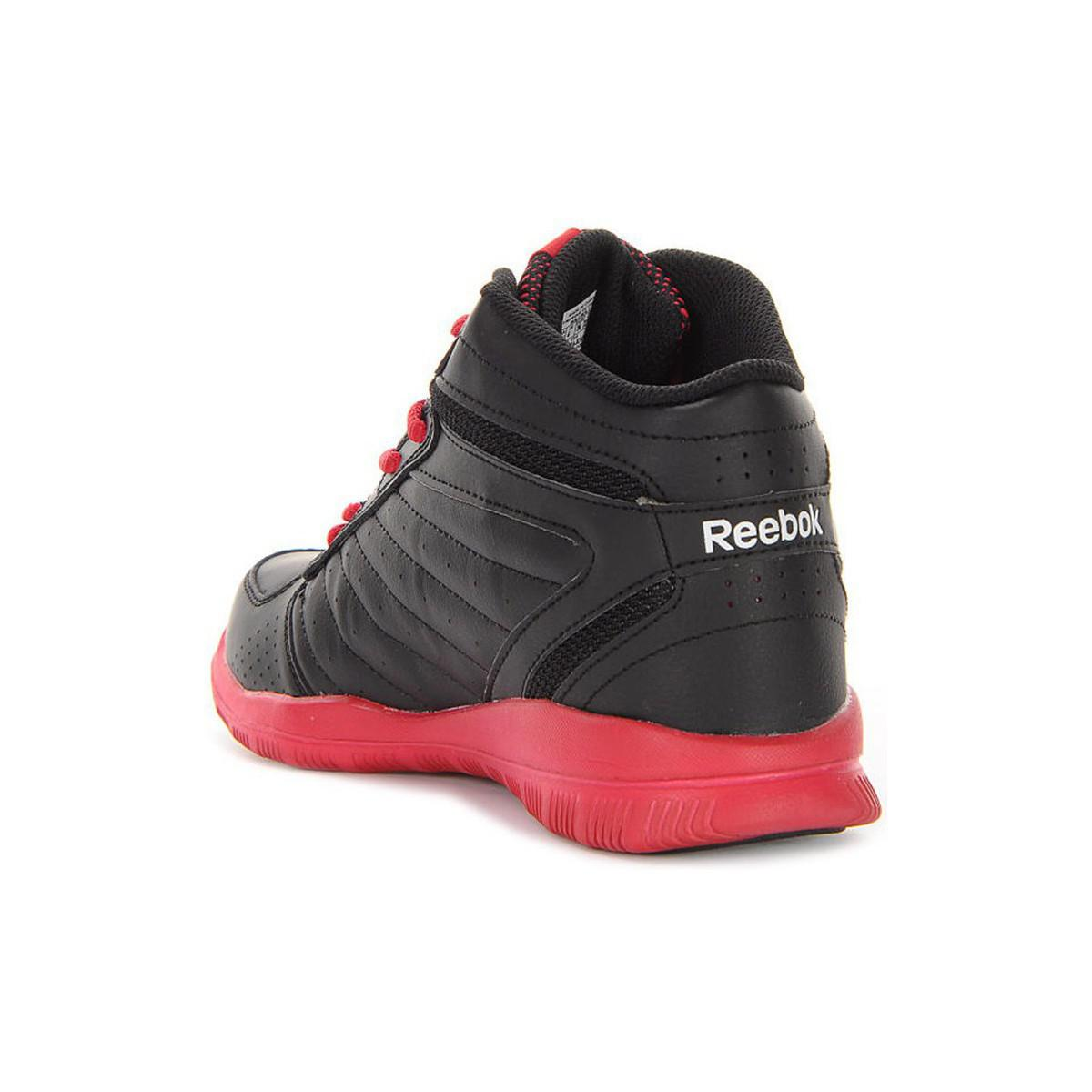 Reebok Clean Shot Women's Basketball Trainers (shoes) In Red